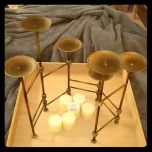 Like new home decor candle holder adjustable